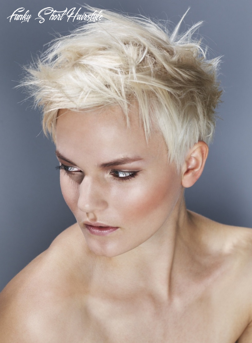 11 funky short hairstyles to get a desired look | hairdo hairstyle funky short hairstyle