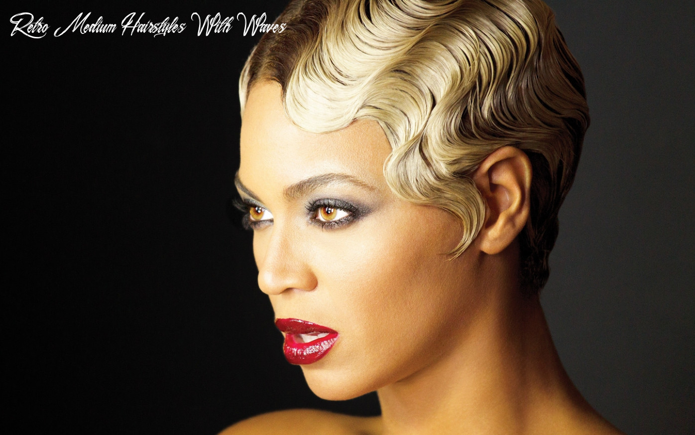 11 glamorous finger wave styles for any hair length retro medium hairstyles with waves