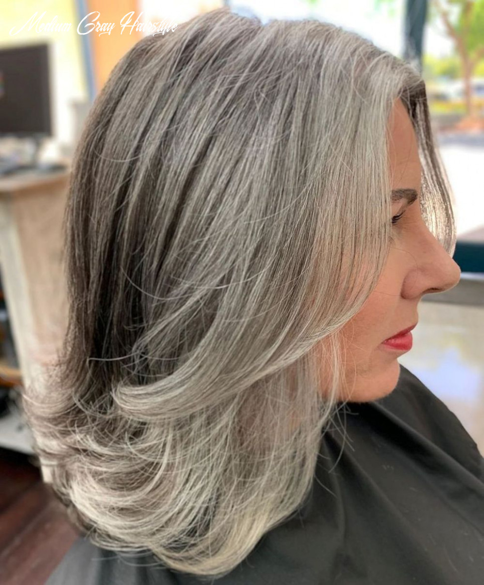 11 Gorgeous Gray Hair Styles in 11 | Blending gray hair, Grey ...