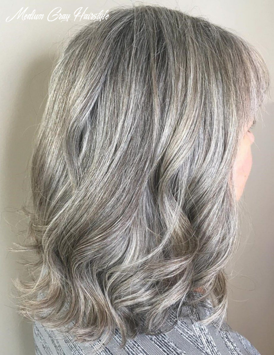 11 gorgeous gray hair styles | long gray hair, medium hair styles