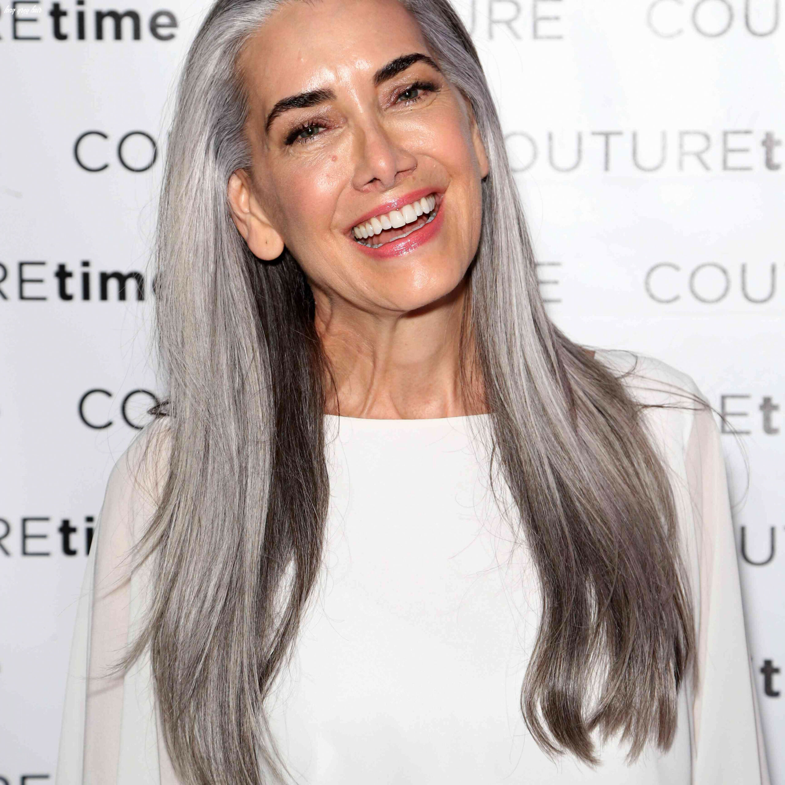 11 gorgeous gray hairstyles for women of all ages long grey hair