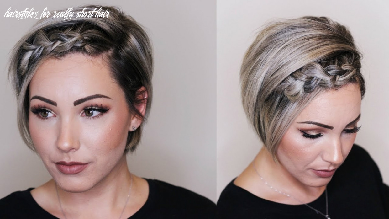 11 gorgeous hairstyles for people with really short hair hairstyles for really short hair