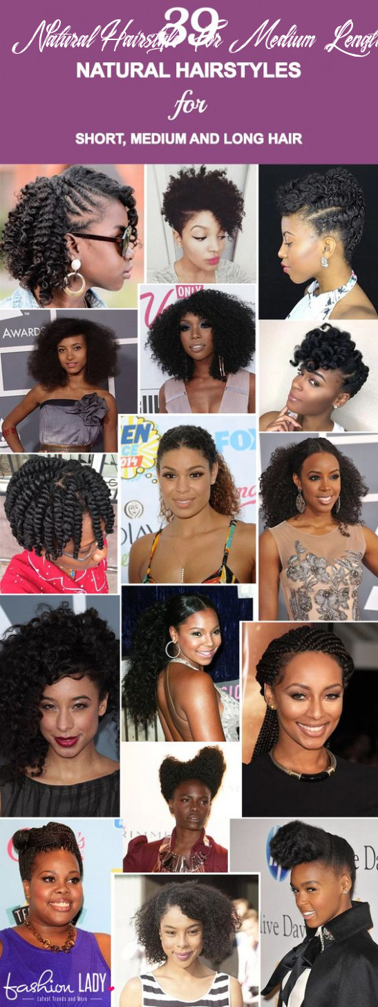 11 Gorgeous Natural Hairstyles For Short, Medium And Long Hair