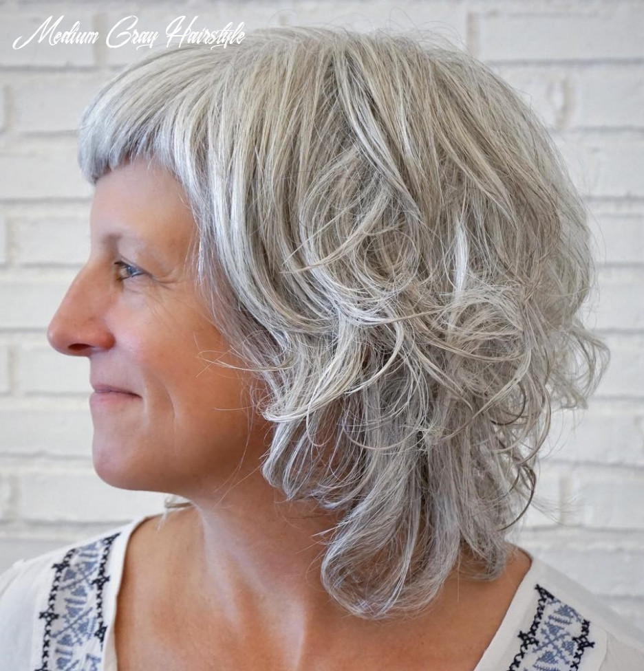11 gray hair styles trending in 11 hair adviser medium gray hairstyle