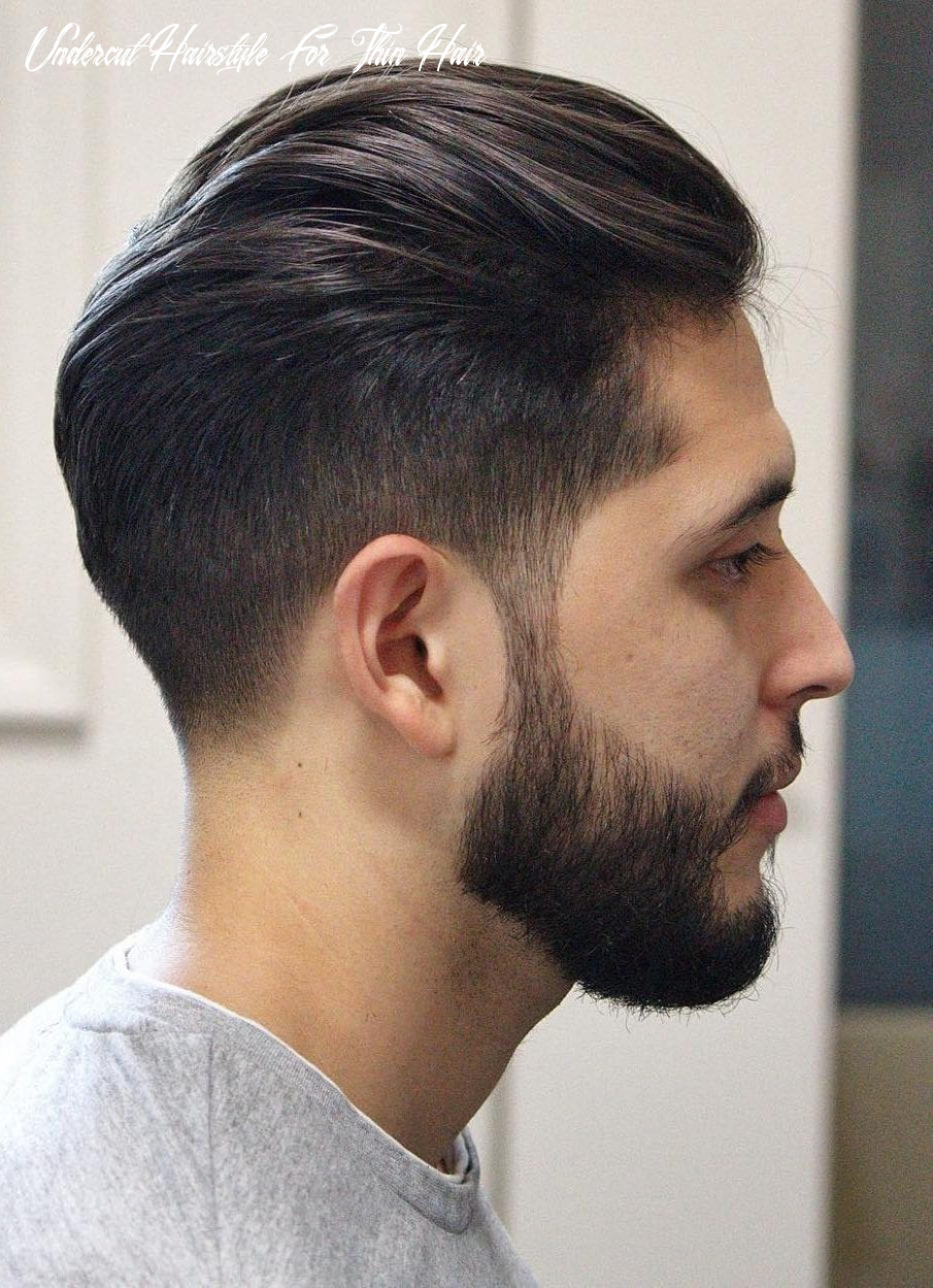11 hairstyles for men with thin hair (add more volume) undercut hairstyle for thin hair