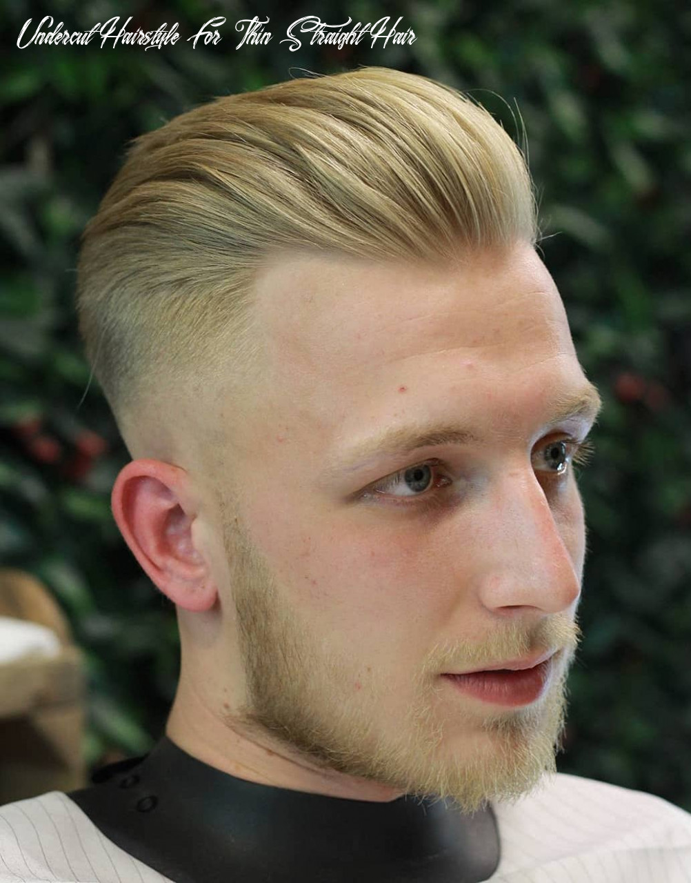 11 hairstyles for men with thin hair (add more volume) undercut hairstyle for thin straight hair