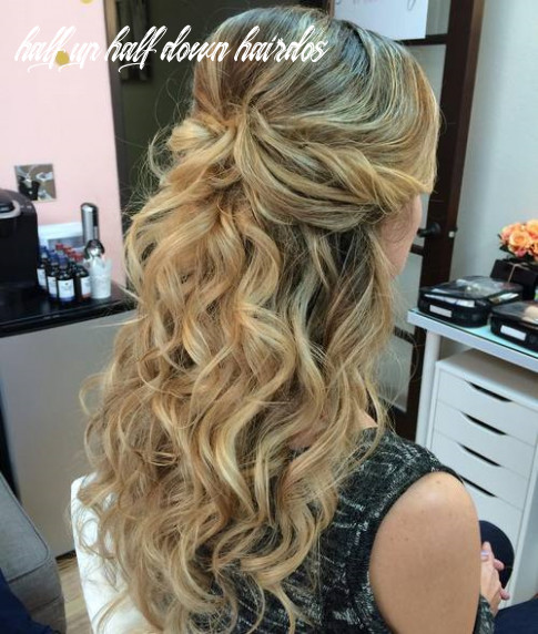 11 half up half down hairstyles for everyday and party looks half up half down hairdos