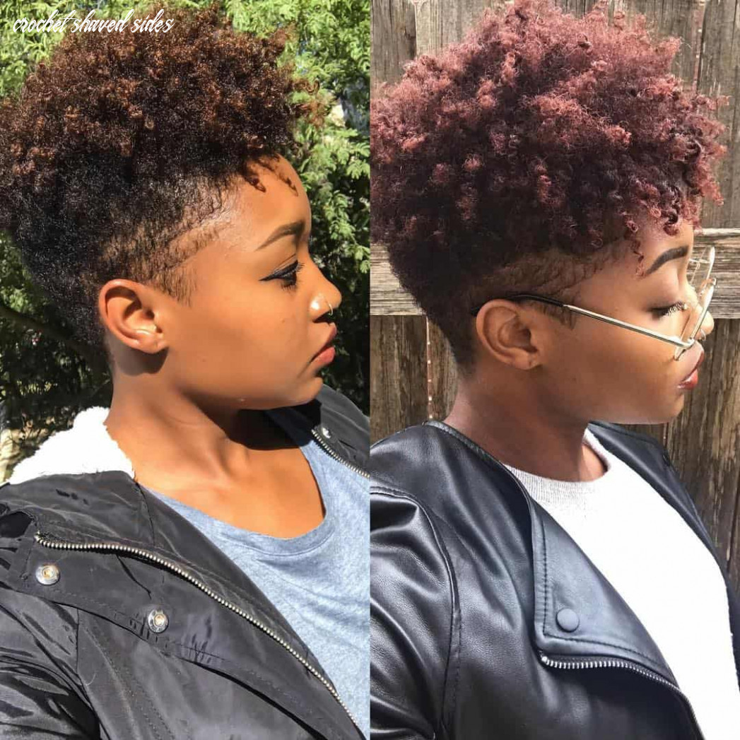 11 hot and sexy shaved sides hairstyles you should try asap crochet shaved sides