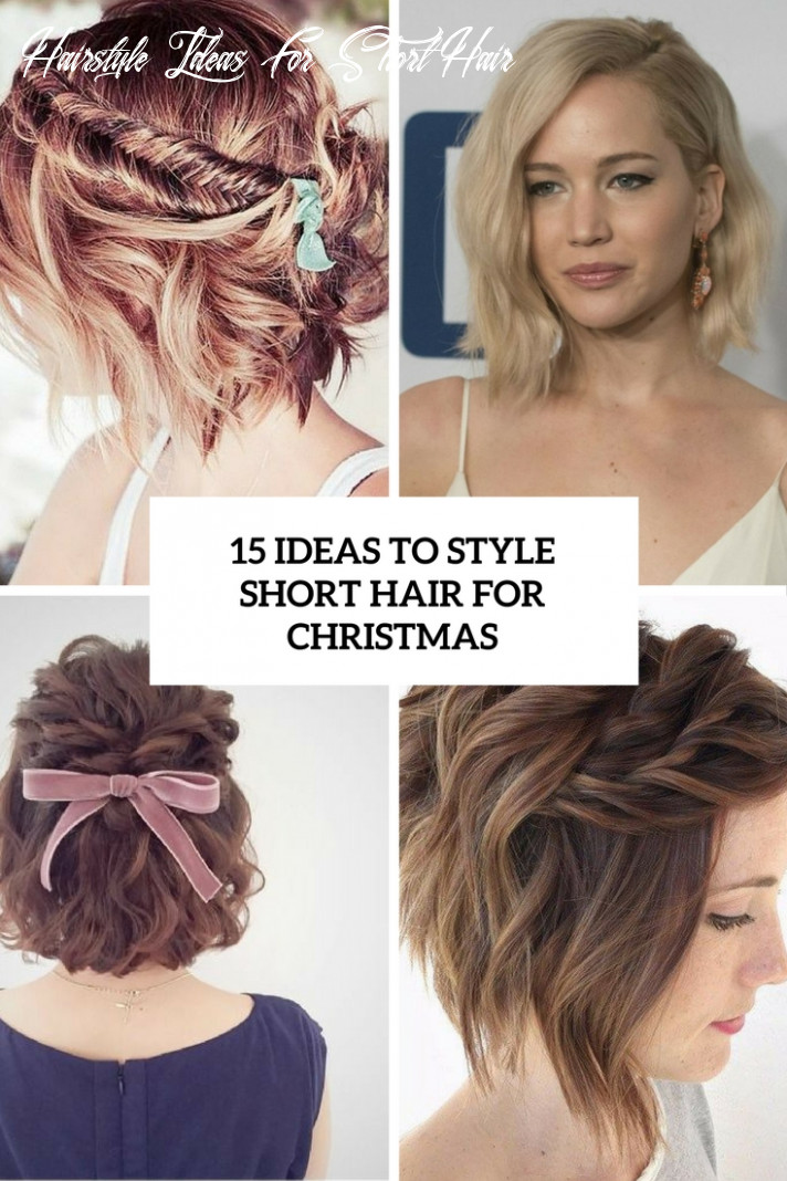 11 ideas to style short hair for christmas styleoholic hairstyle ideas for short hair