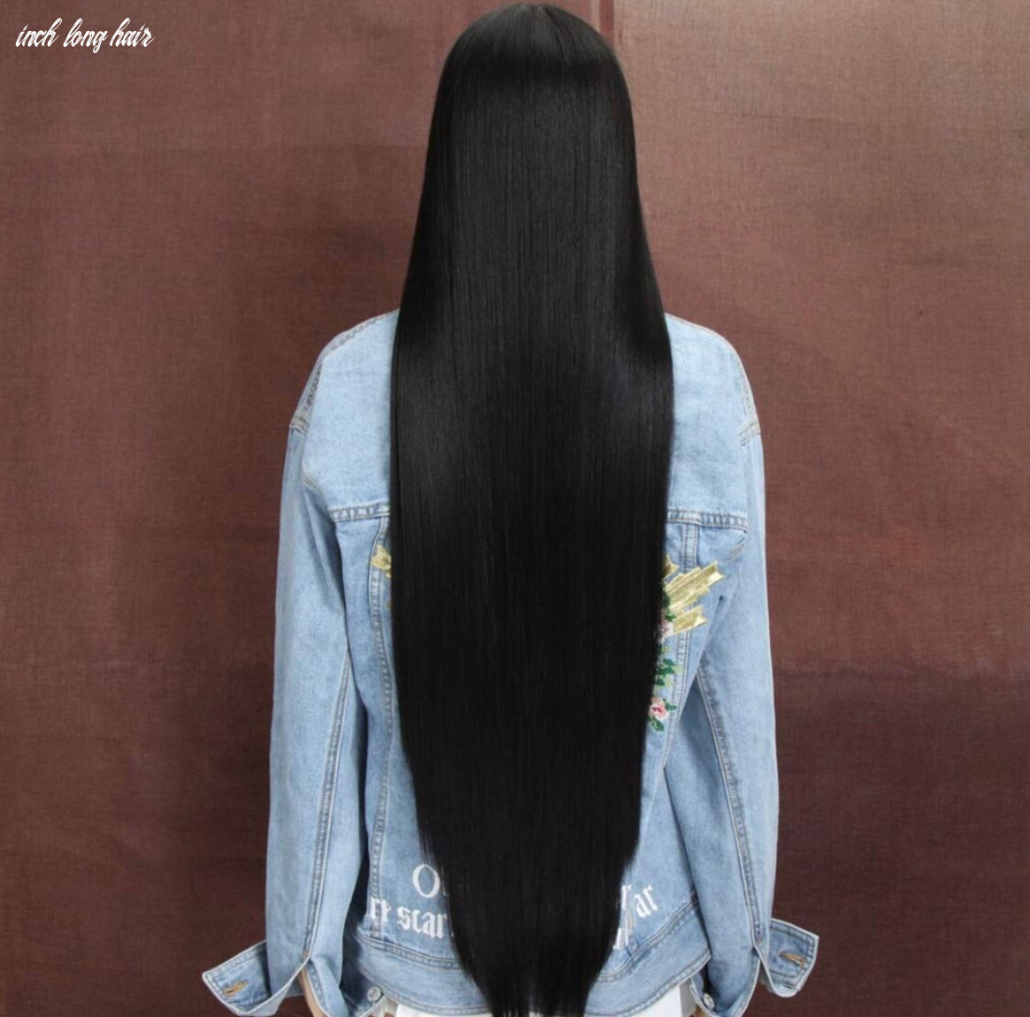 11 inch lace front wig inch long hair