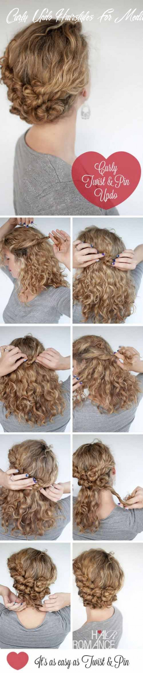 11 Incredibly Stunning DIY Updos For Curly Hair