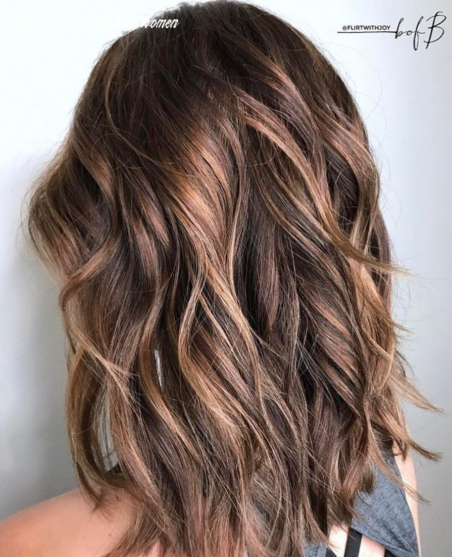 11 layered hairstyles & cuts for long hair in summer hair colors