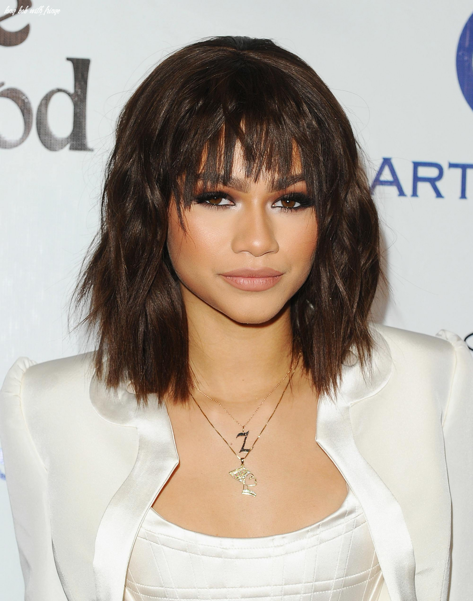 11 long bob with bangs hairstyles for 11 long bob with fringe