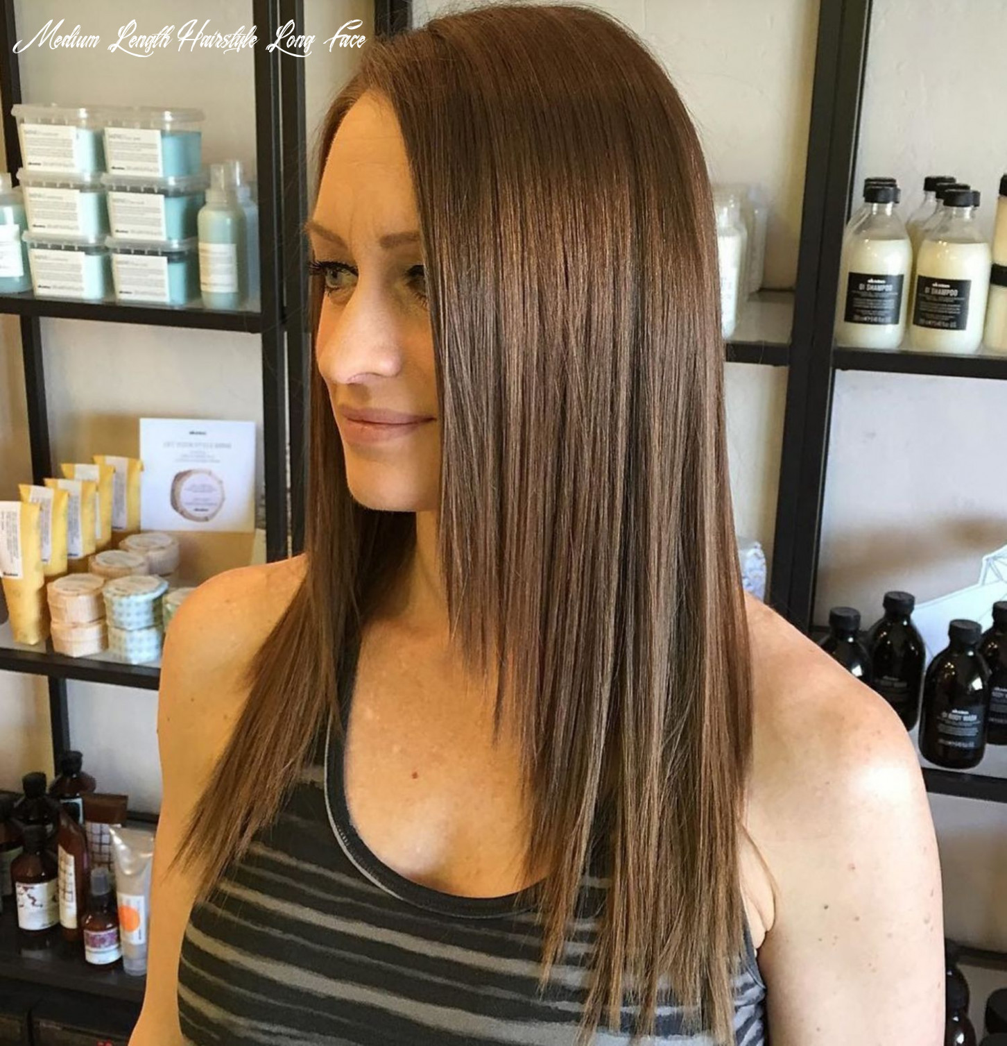11 long hairstyles and haircuts for fine hair   long face