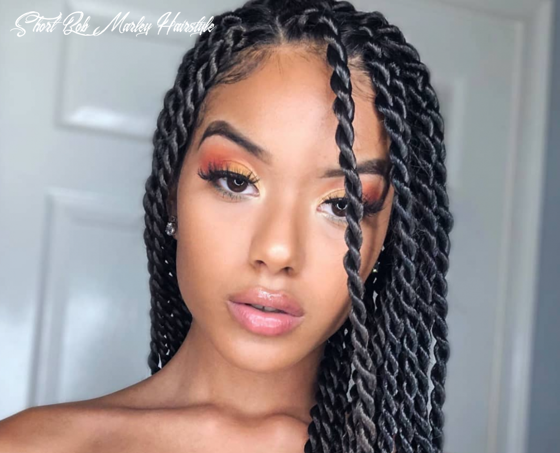 11 marley twists looks for natural hair short bob marley hairstyle