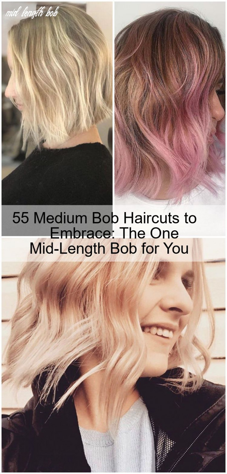 11 medium bob haircuts to embrace: the one mid length bob for you