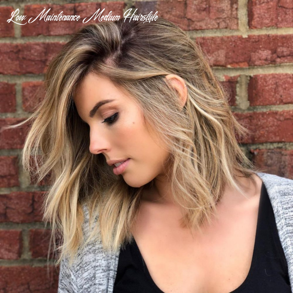 11 medium hairstyles for oval faces in 11 low maintenance medium hairstyle