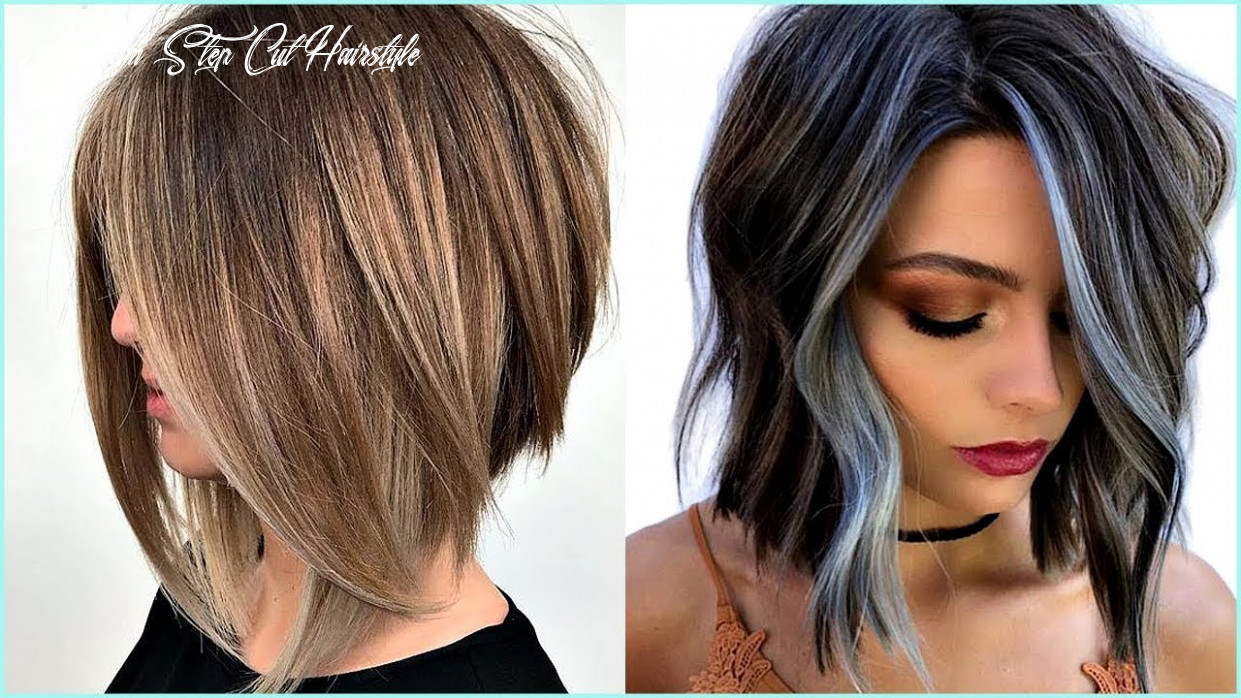 11 medium short edgy hairstyles – try a shocking new cut & color! medium step cut hairstyle