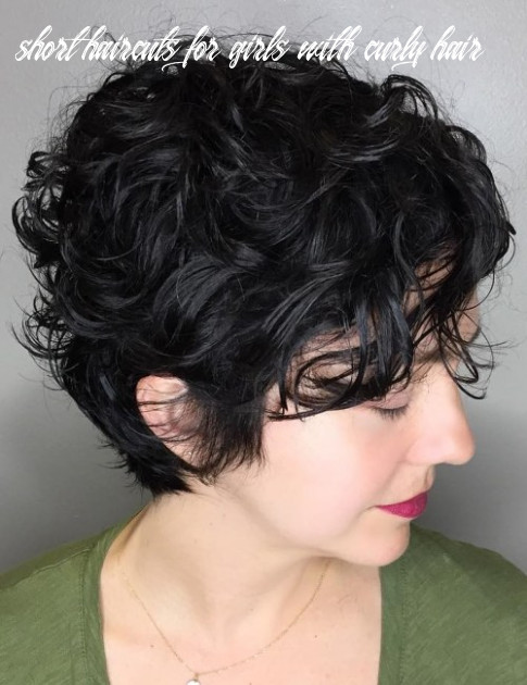 11 most delightful short wavy hairstyles short haircuts for girls with curly hair