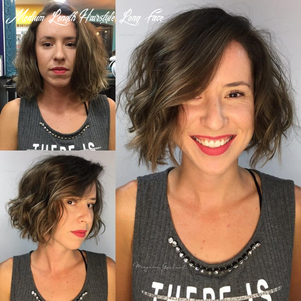 11 most flattering hairstyles for long faces to look shorter medium length hairstyle long face