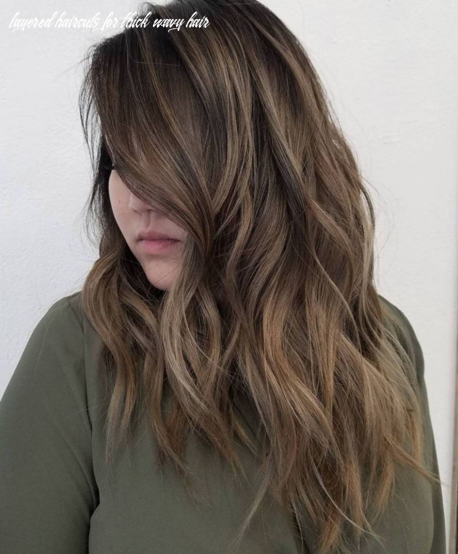 11 most magnetizing hairstyles for thick wavy hair | thick hair