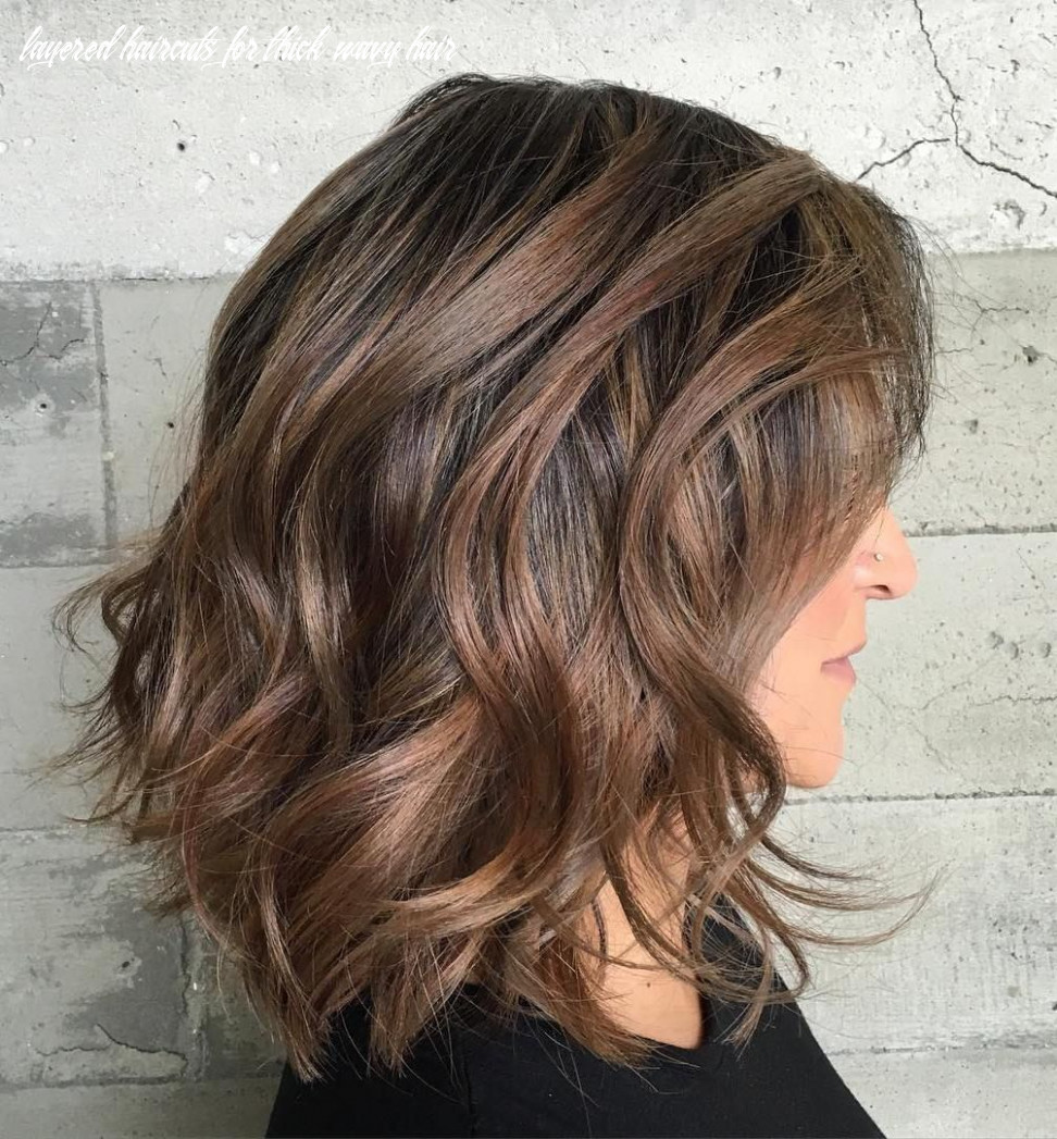 11 most magnetizing hairstyles for thick wavy hair | thick wavy