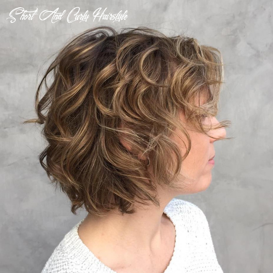 11+ Most stylish Short Curly Hairstyles & Haircuts for Women - Sensod