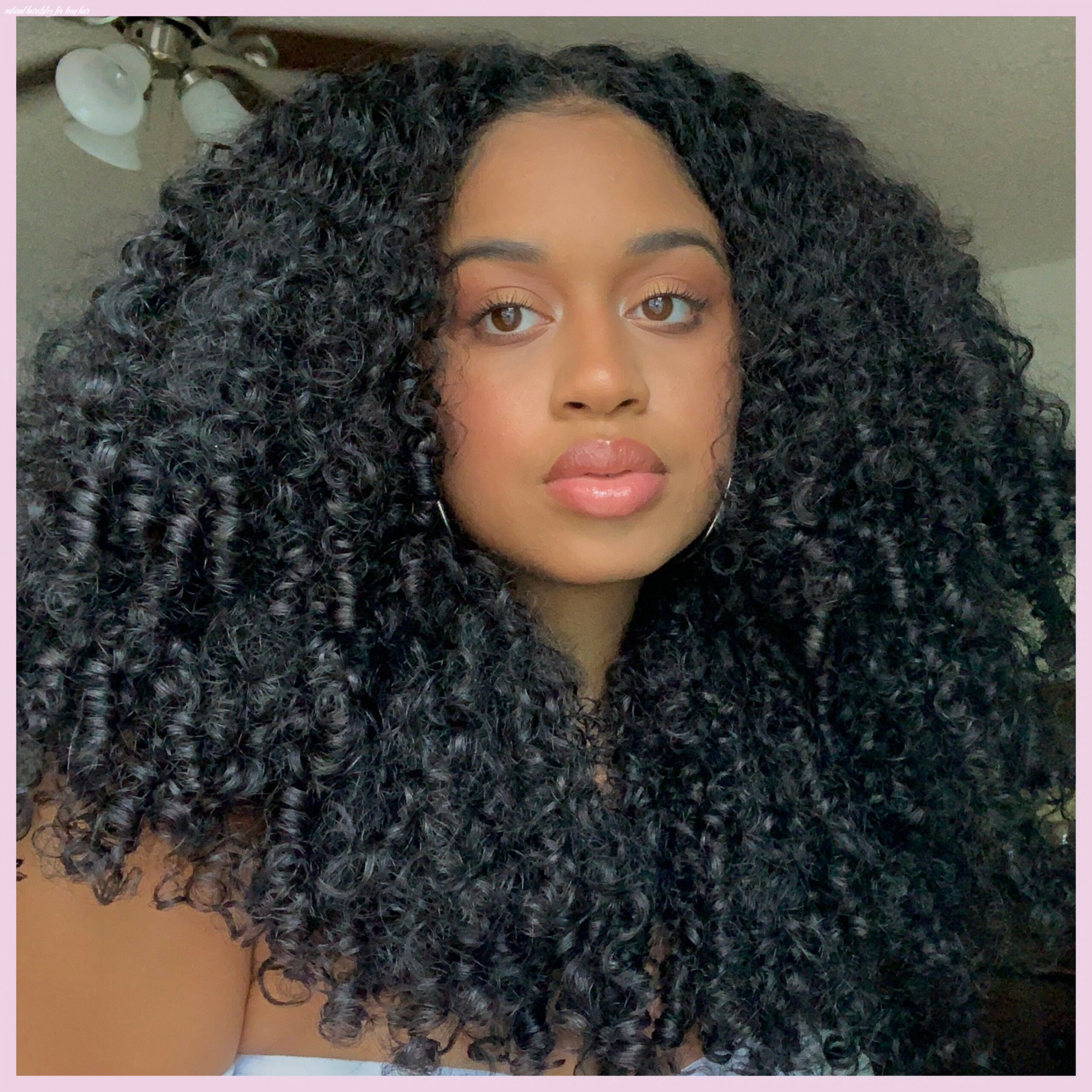 11 natural hairstyles you can definitely do at home | teen vogue natural hairstyles for long hair