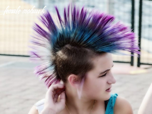 11 nicely done female mohawk hairstyles my new hairstyles female mohawk