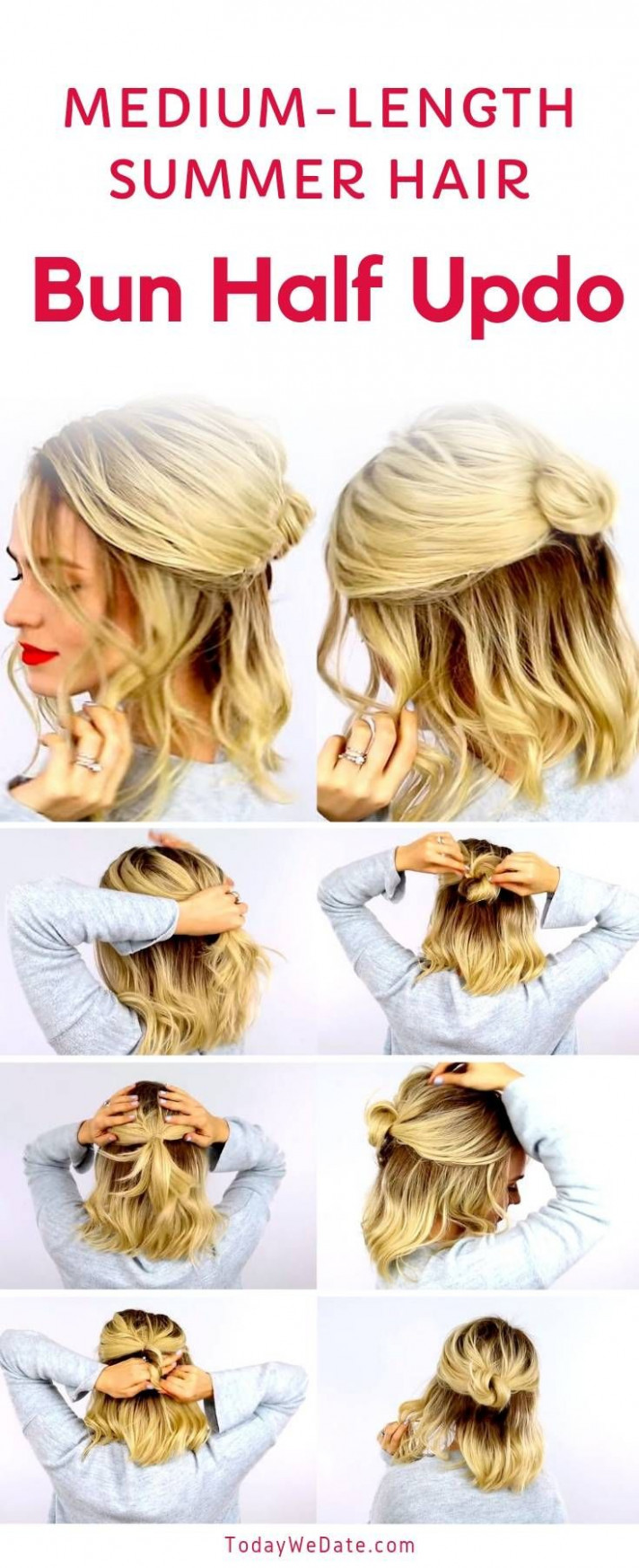 11 no heat easy summer hairstyles anyone can pull off in 11 minutes