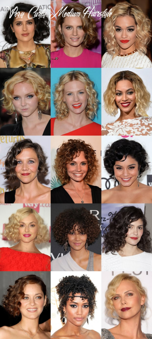 11 of the Best Hairstyles for Medium-Length Curly Hair - The ...
