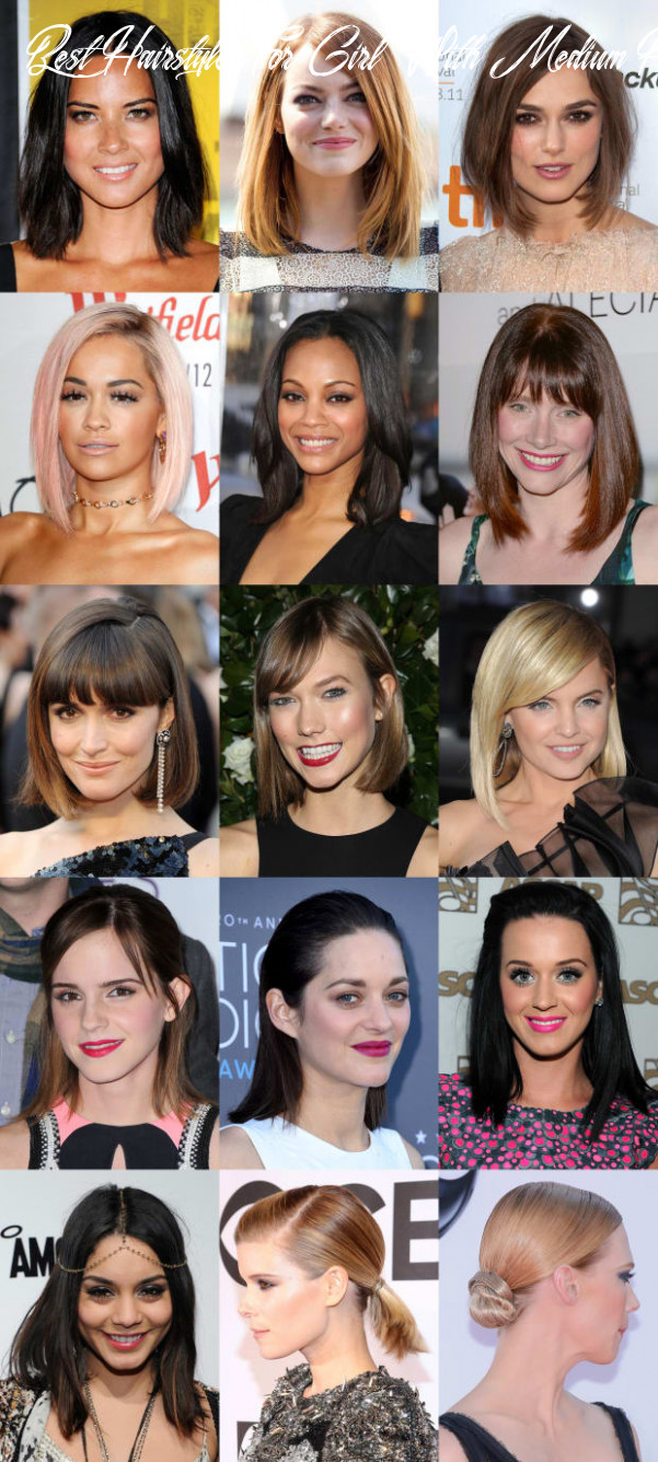 11 of the best hairstyles for medium length straight hair the