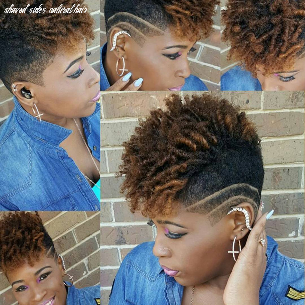 11 of the best photos of shaved sides on short natural hair shaved sides natural hair