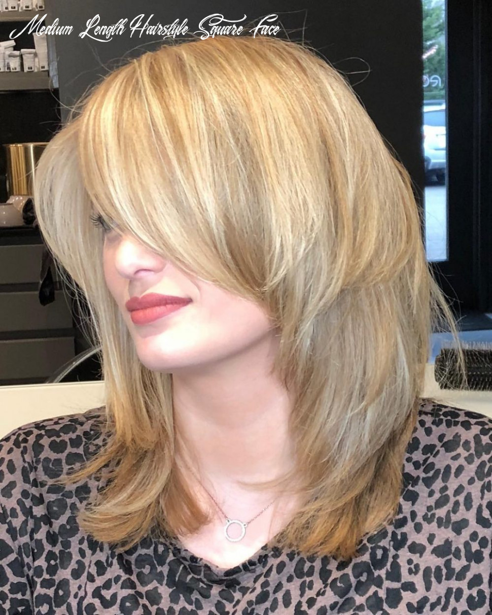 11 perfect medium hairstyles for square faces in 11 medium length hairstyle square face