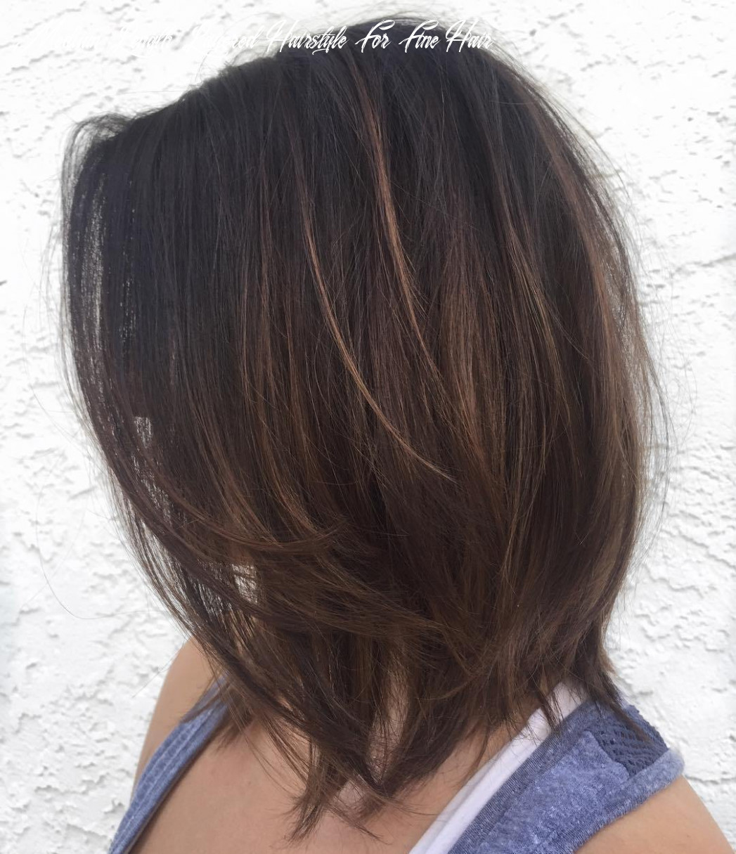11 perfect medium length hairstyles for thin hair in 11 medium length layered hairstyle for fine hair