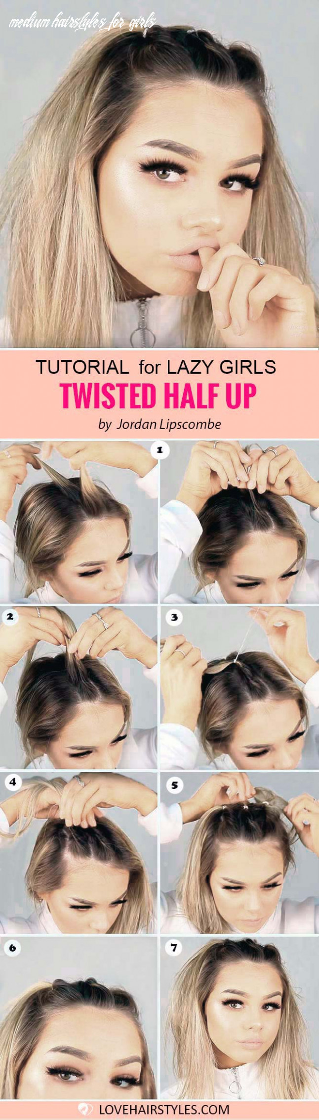 11 perfectly easy hairstyles for medium hair | lovehairstyles medium hairstyles for girls