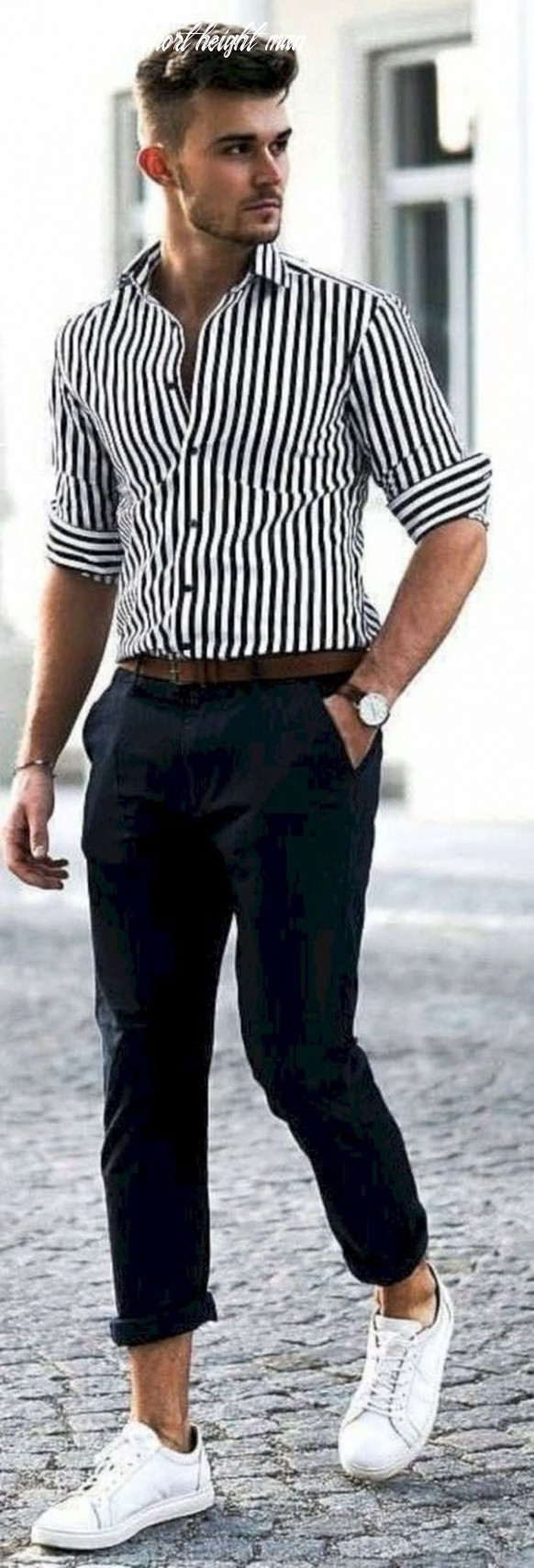 11 practical fashion tips for short height men machovibes hairstyle for short height man