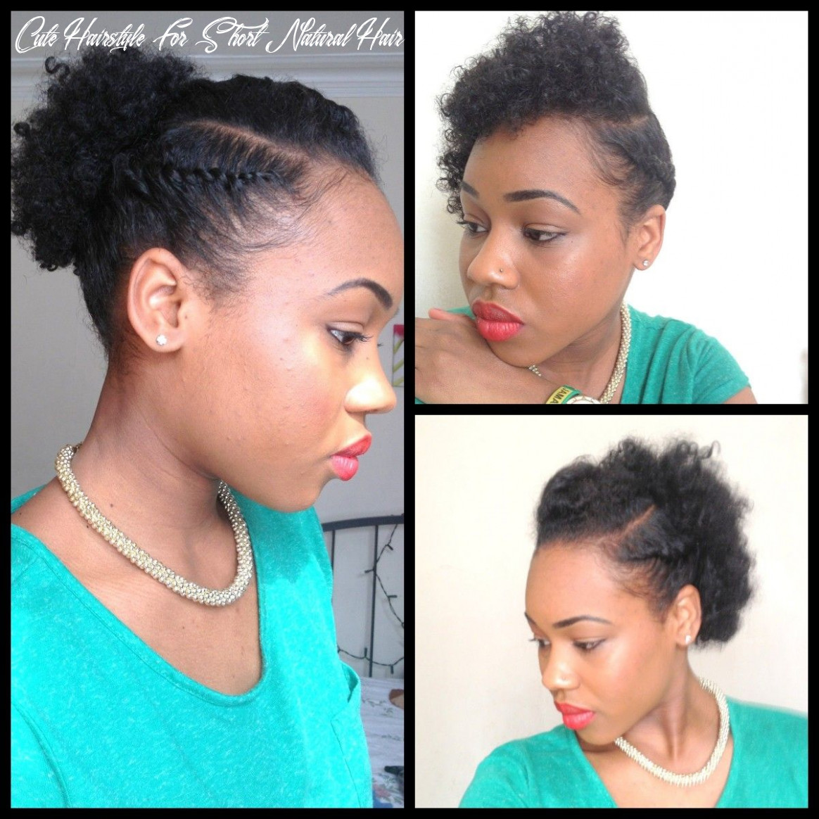 11 quick hairstyles for short natural hair   cheveux naturels