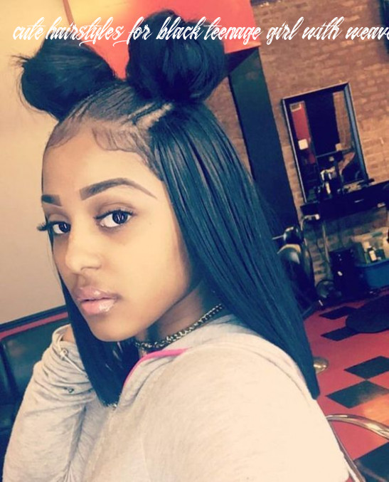11 quick straight hair weave cute back to school hairstyles for