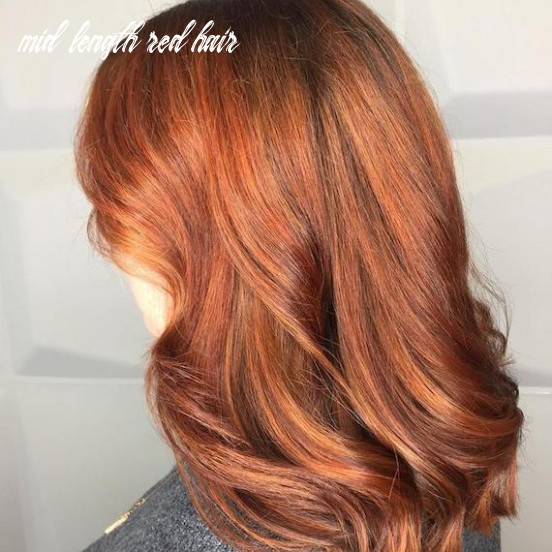 11 red hair colors, from ginger to auburn | wella professionals mid length red hair