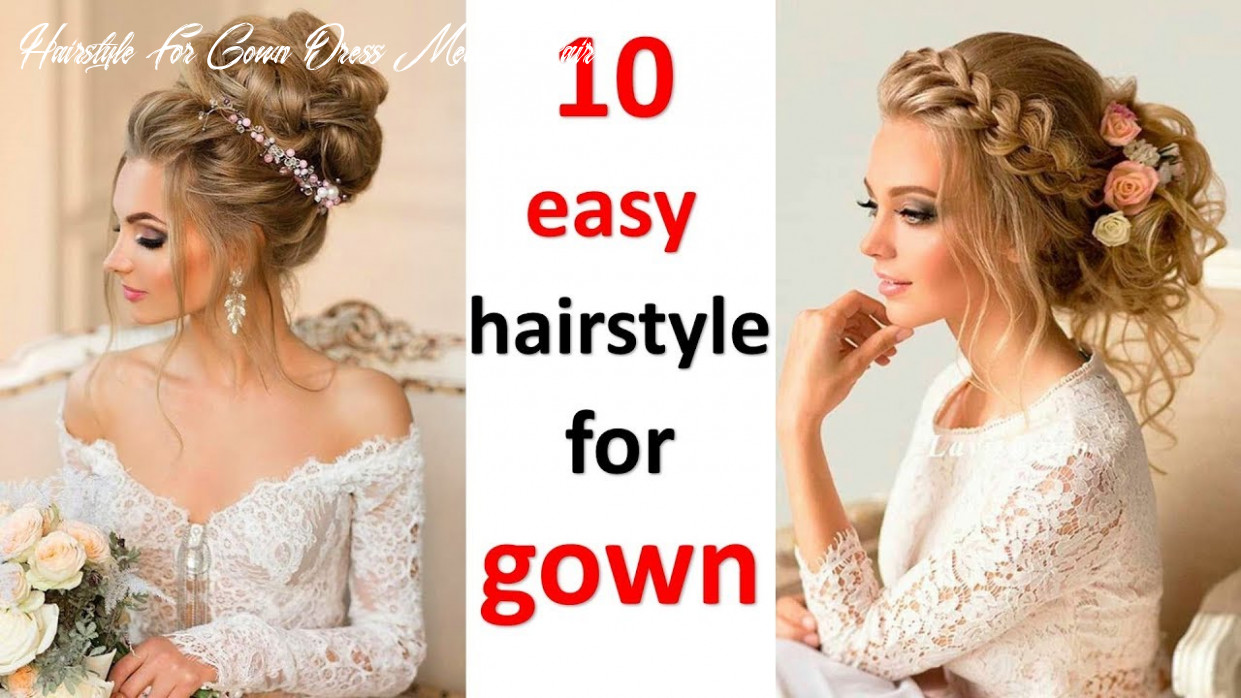 11 romantic hairstyle for gown || party hairstyles || wedding hairstyles || hair style girl hairstyle for gown dress medium hair
