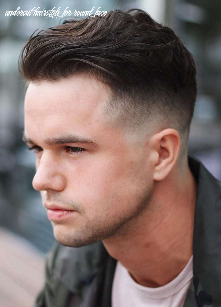 11 selected haircuts for guys with round faces undercut hairstyle for round face