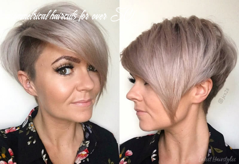 11 sexiest short hairstyles for women over 11 in 11 asymmetrical haircuts for over 50