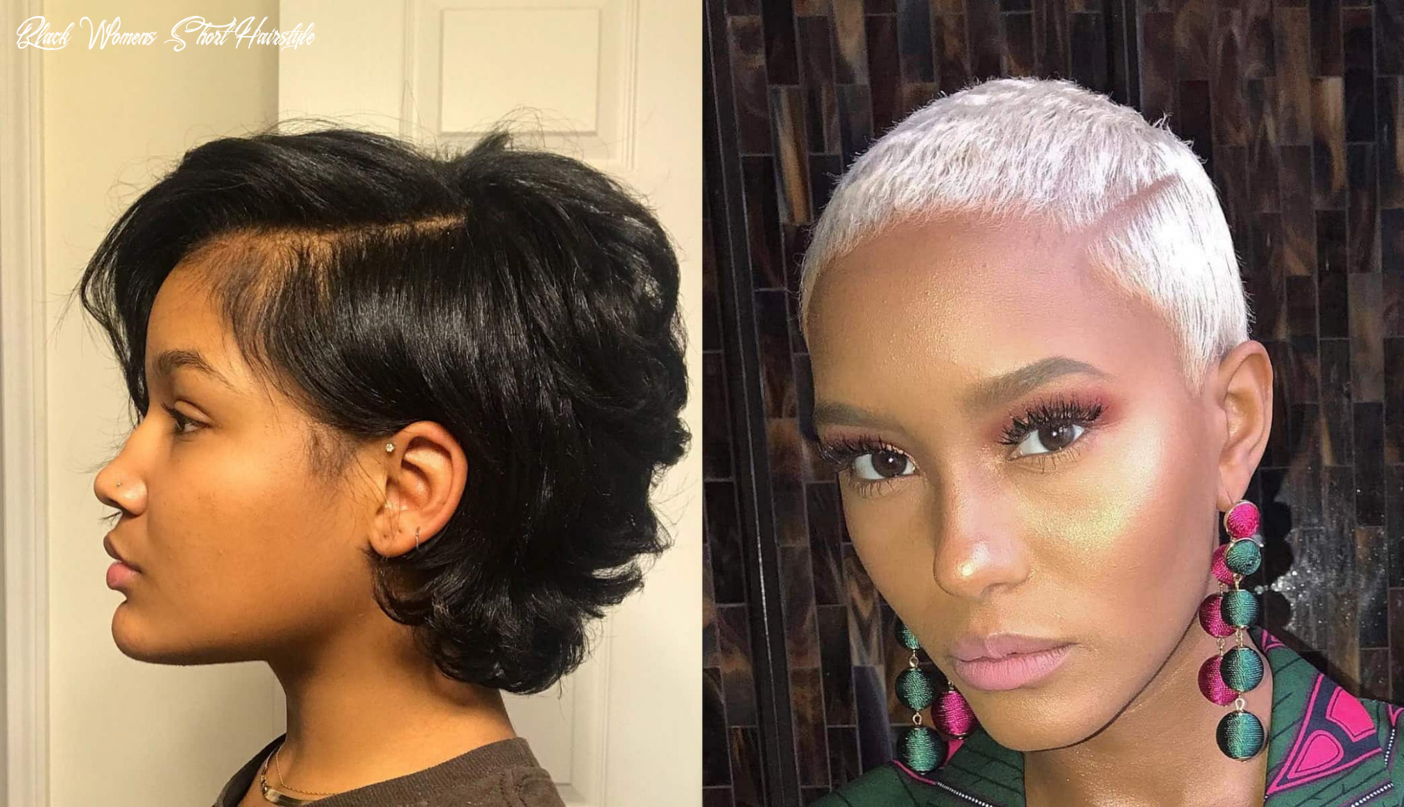 11 short hairstyles and haircuts for black women | stylesrant black womens short hairstyle