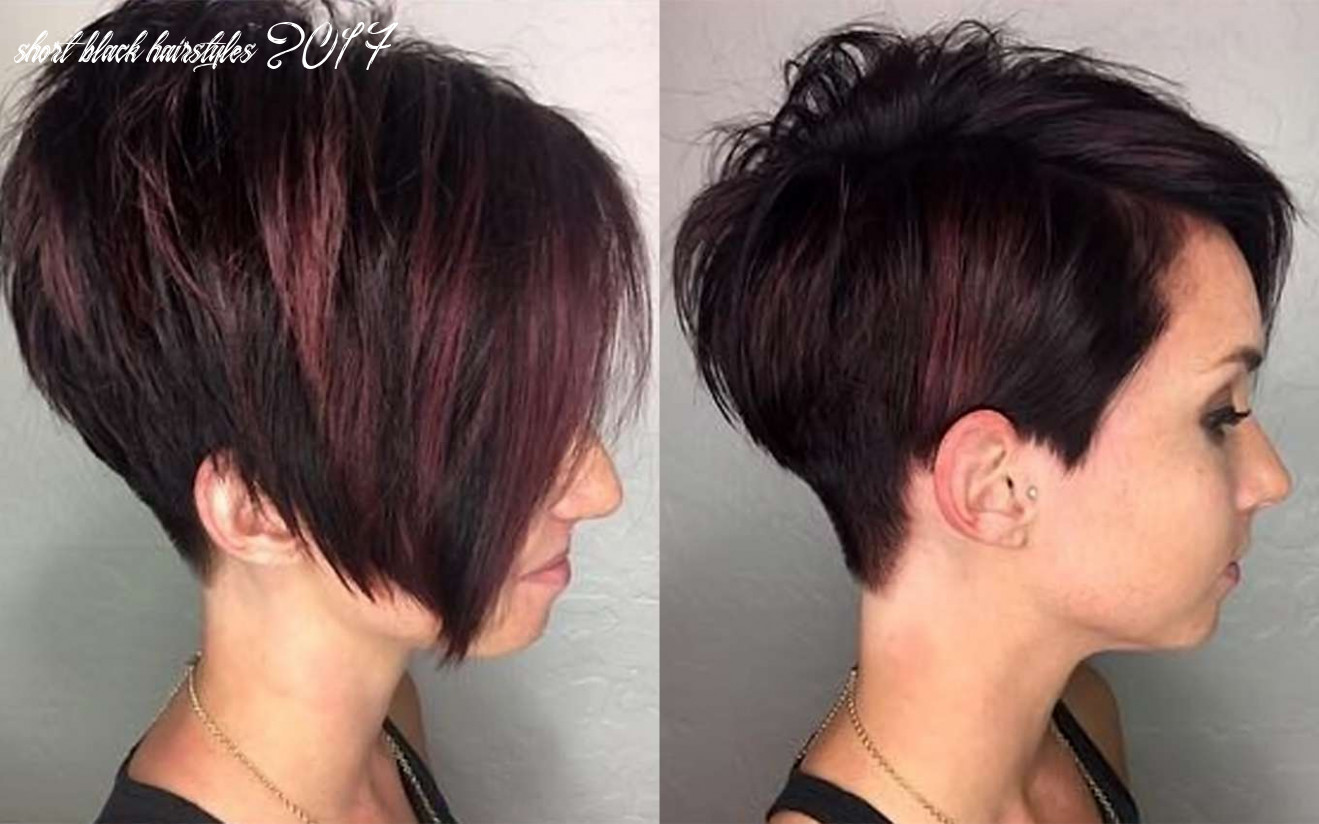 11 short hairstyles black   fashion and women short black hairstyles 2017