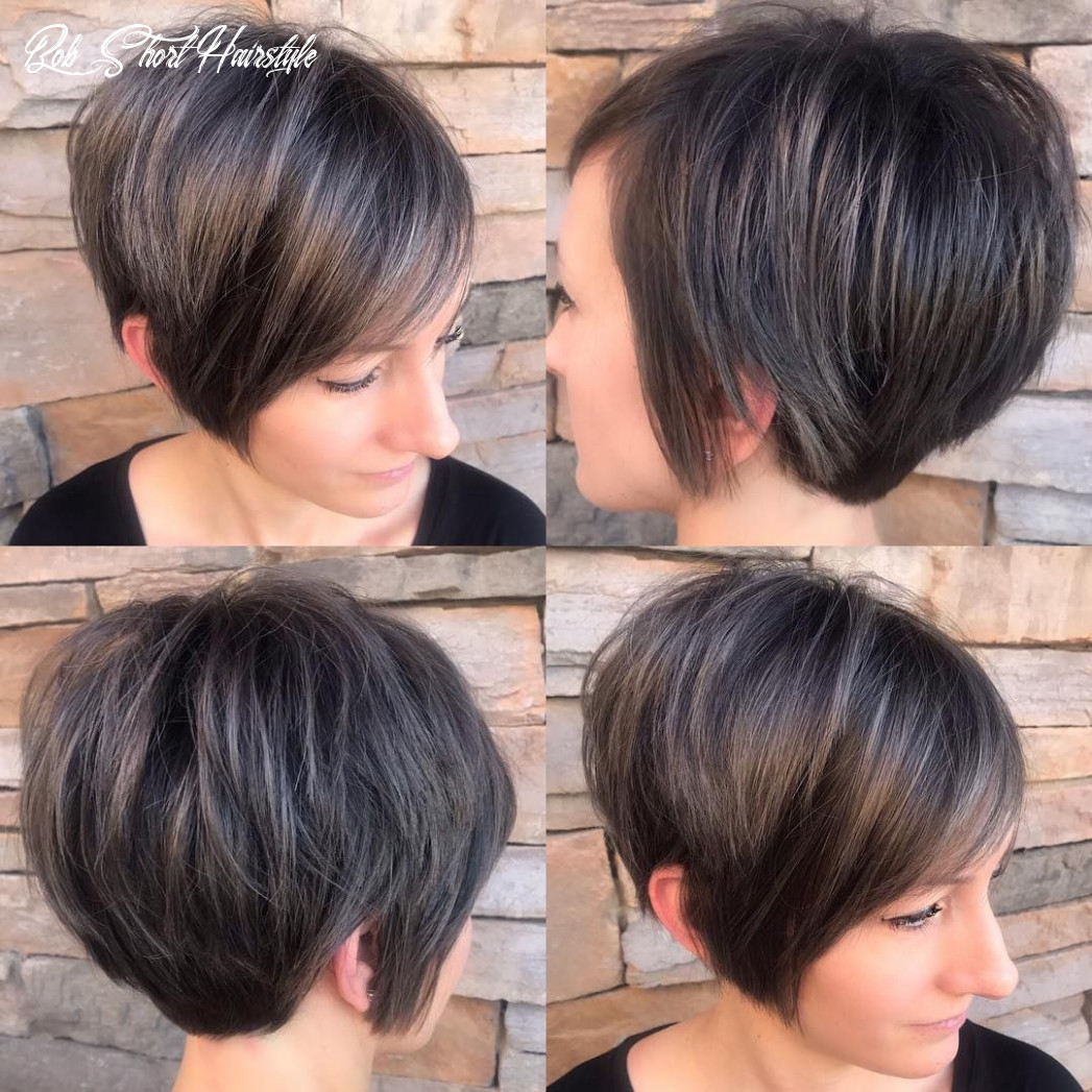11 short hairstyles for fine hair | short stacked bob haircuts