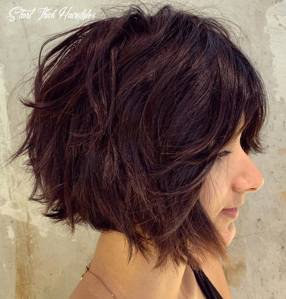 11 short hairstyles for thick hair (trendy in 11 11) ⋆ palau