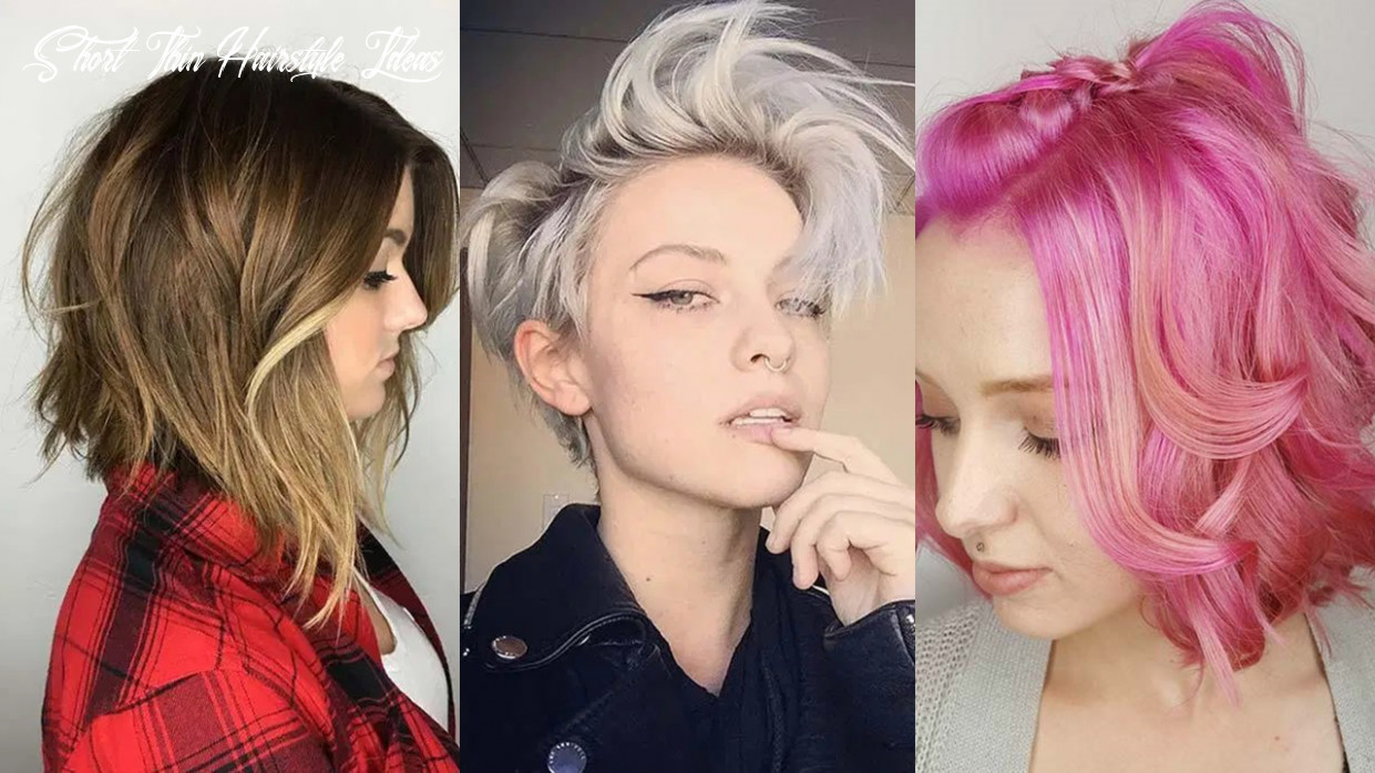 11 Short Hairstyles for Women with Thin Hair   Fashionisers©