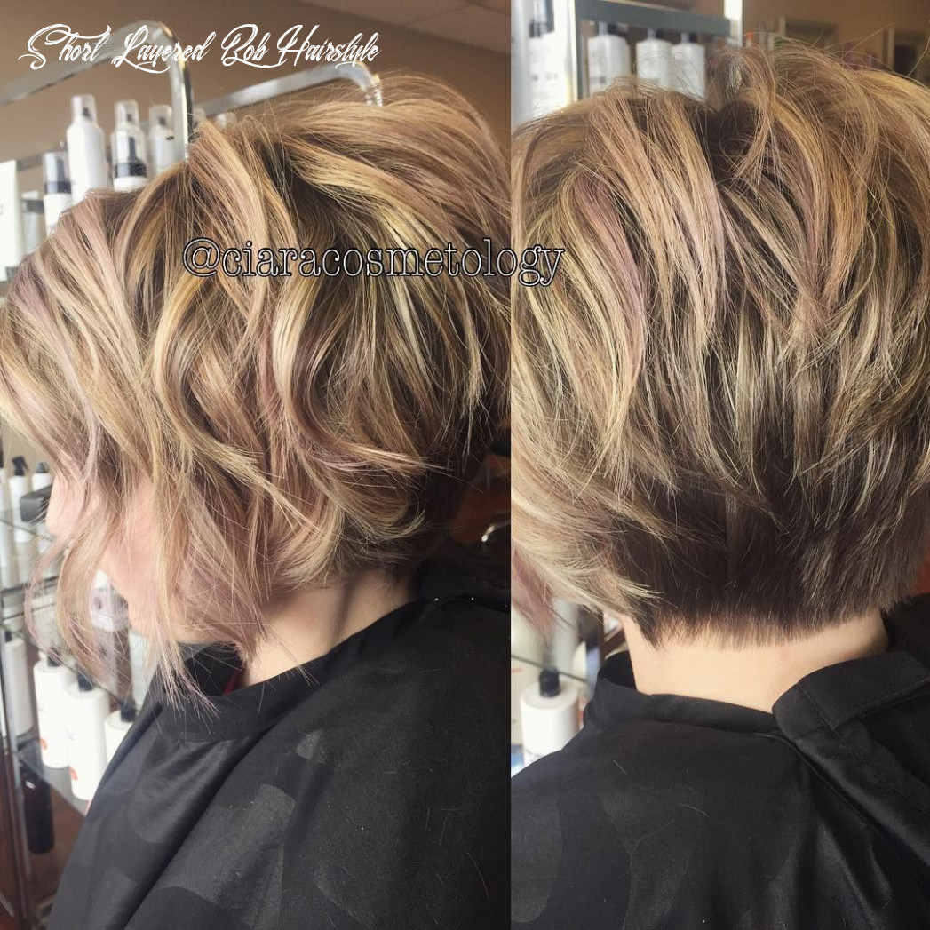 11 short layered hairstyles that you simply ideas | frisuren, bob