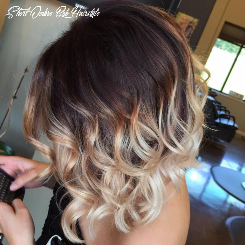 11 Short Ombre Hair Options for Your Cropped Locks in 11 | Short ...